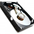 Hard drive. On a white background. — Stock Photo