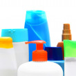 Bottles. On a white background. — Stock Photo