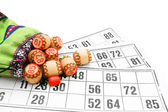 Lotto. On a white background. — Stock Photo
