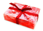 Gift soap. On a white background. — Stock Photo