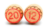 Lotto. New 2012. On a white background. — Stock Photo