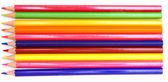 Lápices de colores sobre un fondo blanco. — Foto de Stock