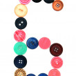 Stock Photo: Buttons for sewing.