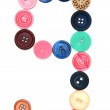 Buttons for sewing. — Stock Photo