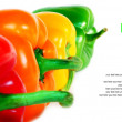 Multi-coloured pepper. — Stock Photo #10899261