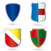 Set of heraldry — Stock Vector