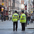 Police near Piccadilly Circus in London — Stock Photo #11601436