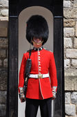 Guard at the Tower of London — Stock Photo