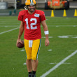 Stock Photo: Quarterback Aaron Rodger of Green Bay Packers