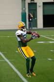 Receiver Donald Driver of the Green Bay Packers — Stock Photo