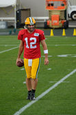 Quarterback Aaron Rodger of the Green Bay Packers — Stock Photo