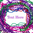 Mardi gras beads — Stock Photo #10807461
