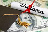 Cap e diploma — Foto Stock