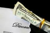 Divorce cash — Stock Photo