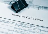 Insurance claim — Stock Photo