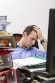 Office exhaustion — Stock Photo