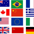 Bestselling flags — Stock Photo