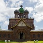 ������, ������: Main entrance to church Beheading of St John Baptist