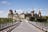 Old Kamenets-Podolsky castle — Stock Photo