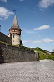 Old Kamenets-Podolsky castle — Stock Photo