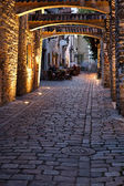 Old european street — Stock Photo
