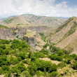 Beautiful summer landscape, in Garni,Armenia — Stock Photo