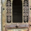 Rusty old iron door with ornamentation — Stock Photo #11127133