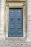 Historic door, seen in Paris, France — Stock Photo