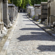 Cemetery in Paris, France — Stock Photo