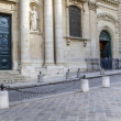 Entrance to the Sorbonne University in Paris, France — Stock Photo #11165929