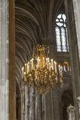 Historic chandelier, seen in Paris, France — Stock Photo
