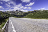 Scenic mountain road in Northern Italy — Stock Photo