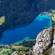 "Lake ""Hintersteiner See"" in Austria - ストック写真"