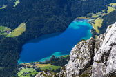 "Lake ""Hintersteiner See"" in Austria — Stock Photo"