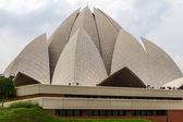 Bahai house of worship, Lotus Temple in Delhi, India — Stock Photo