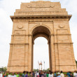 The famous India Gate in New Delhi, India — Stock Photo