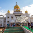 """Gurdwara Bangla Sahib"" Temple in Delhi, India — Foto de Stock"