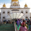 """Gurdwara Bangla Sahib"" Temple in Delhi, India — Stock Photo #12339075"