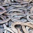 Royalty-Free Stock Photo: Old horseshoes