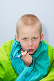 Sick boy — Stockfoto