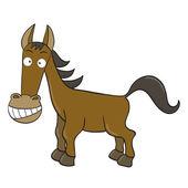 Cartoon horse — Stock Vector