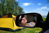 Campings in — Stock Photo