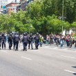 Stock Photo: Riot policemen