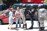 Riot policemen — Stock Photo