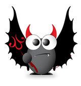 Cartoon Character - Devil — Stock Vector