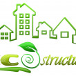 Eco Structures Logo design — Stock Photo #11971322