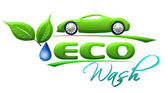 Eco car wash Symbol — Stock Photo