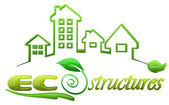 Eco Structures Logo design — Stock Photo