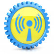 Wi-Fi icon — Stock Photo #11344488