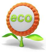 Icône eco flower — Photo